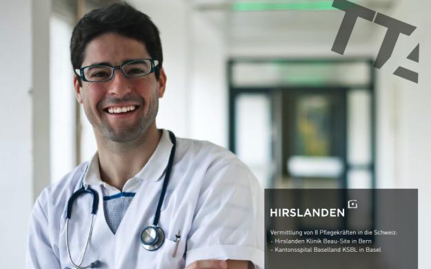 Pflegekräfte in der Schweiz